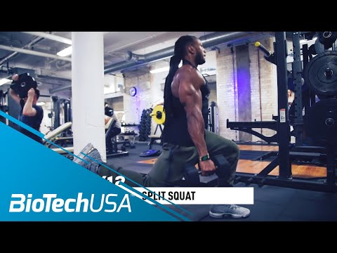 Legs Workout / Quads - Daily Routine with Ulisses - BioTechUSA