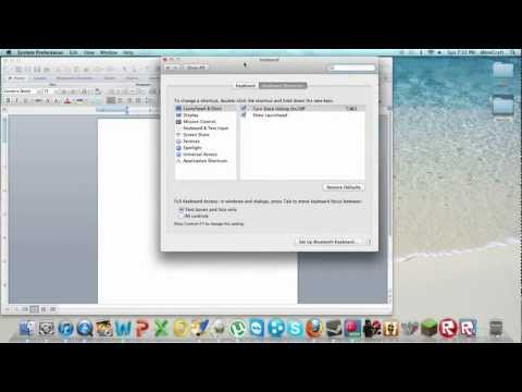 How to go into full screen on Mac!