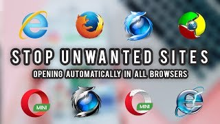 How To Stop Unwanted Sites Automatically Opening In Google