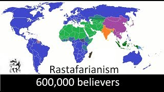 The Biggest Religions In The World (Religions With More Than 500.000 Believers)