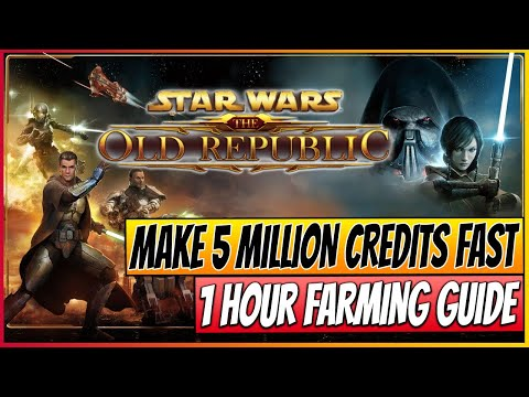 ★SWTOR - How to Make 5 Million Credits in 1 Hour - Best Fast Credit Guide - Tips & Tricks 30