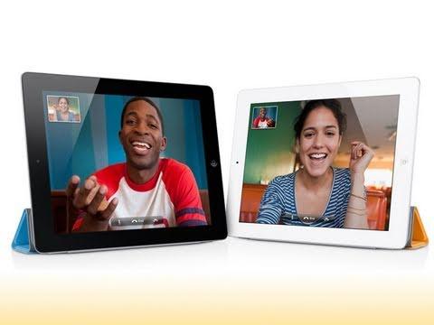 iPad 2 FaceTime Test