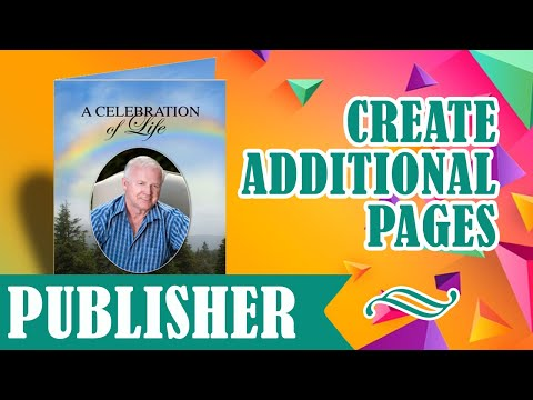 How To Create Additional Pages in Microsoft Publisher