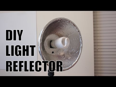 Cheap DIY Studio Light Reflector