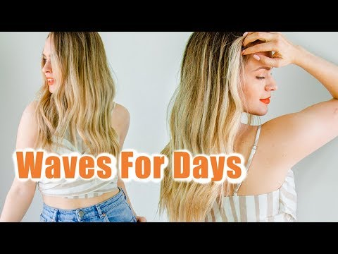 My 10 Minute Waves from Wet to Dry - KayleyMelissa