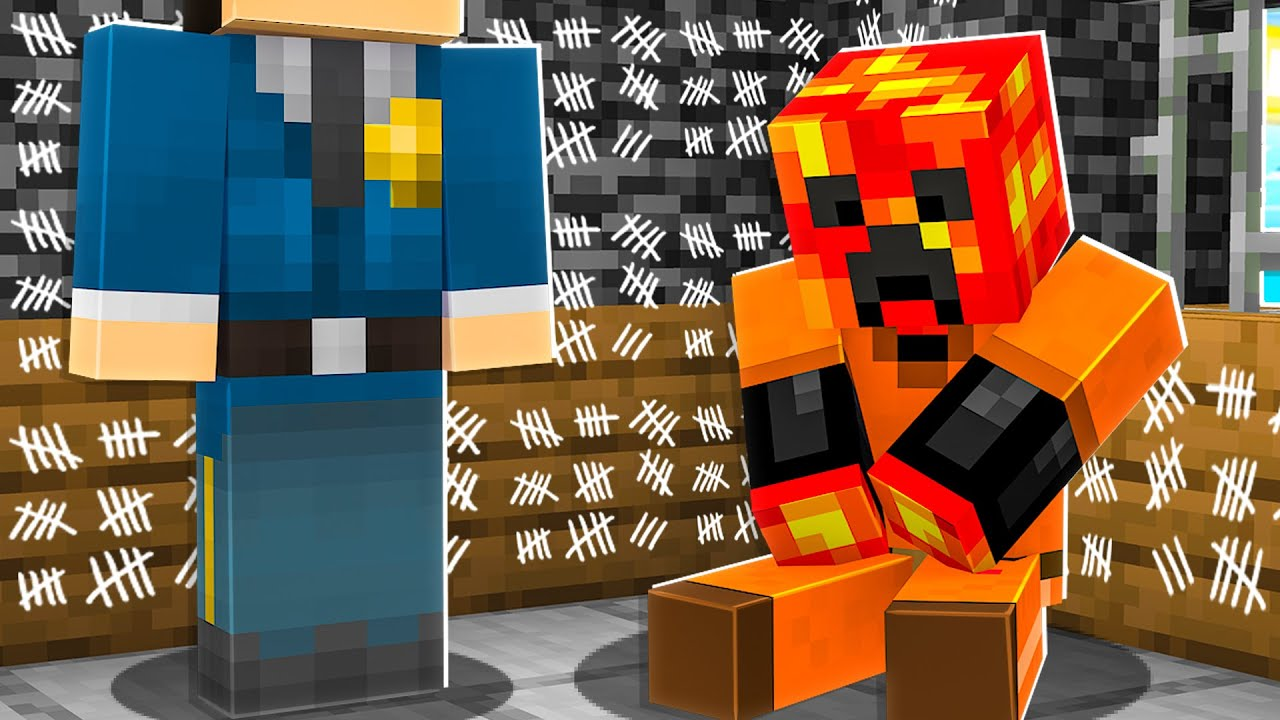 I Survived 300 Days in Minecraft Prison... *trapped*