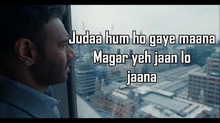 Chale Aana Full Song With Lyrics  De De Pyaar De I Ajay Devgn Tabu L Armaan Malik Amaal Mallik