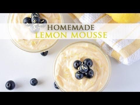 Easy Recipe for Homemade Lemon Mousse