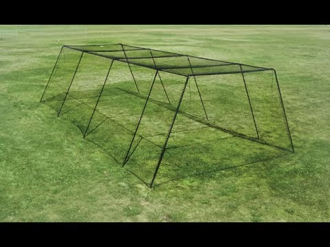 Trapezoid Batting Cage