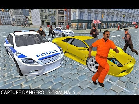 Drive Police Car Gangsters Chase Crime (By  Door to apps) Android Gameplay HD