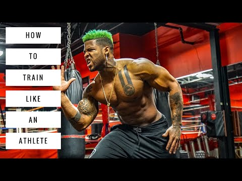 Becoming the Athlete : Football (sports) Training (Leg Day)