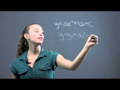How to Write Quadratic Equations in Standard Form & Determine the Con... : Math Questions & Answers