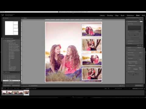 Print module using templates for lightroom