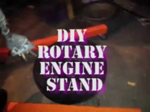 DIY Rotary Engine Stand