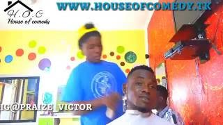 BOVI & FRIEND barbing Without Money..  See What Happens Next..  ( VERY FUNNY) (Nigerian Comedy)