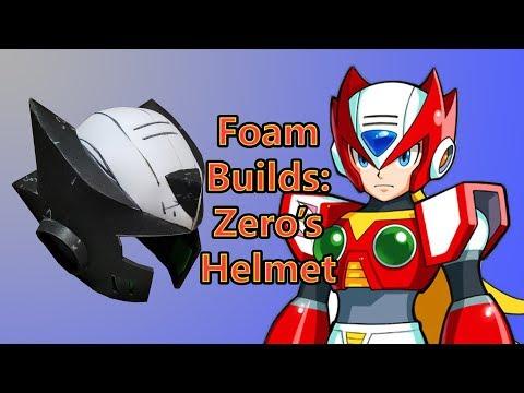 Foam Builds: Zero's Helmet