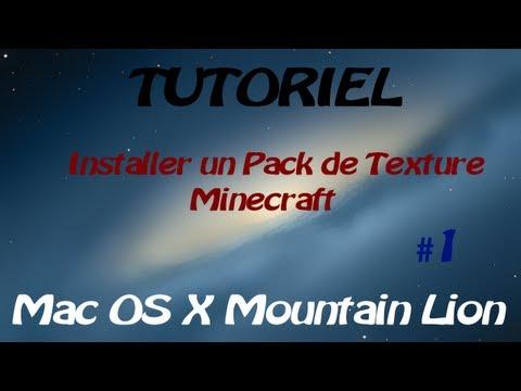 Installer un Texture Pack Minecraft #1 sur Mac OS X [FR] ᴴᴰ