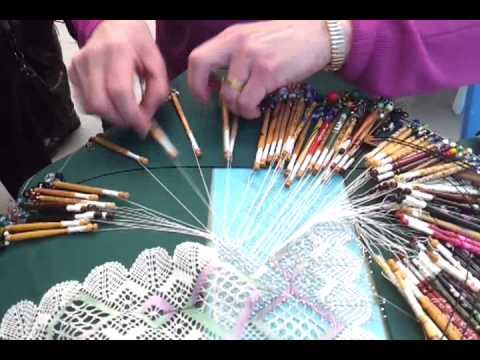 Lace Making by Hand