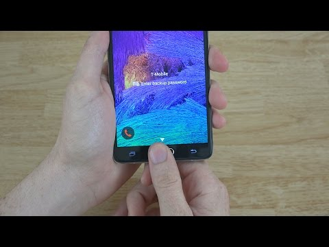 How To Setup the Fingerprint Scanner on the Samsung Galaxy Note 4!