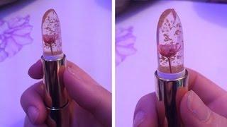 Diy Flower Jelly Lipstick