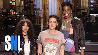 Download Leslie Jones Is a Big Fan of SNL Host Kristen Stewart & Alessia Cara Video