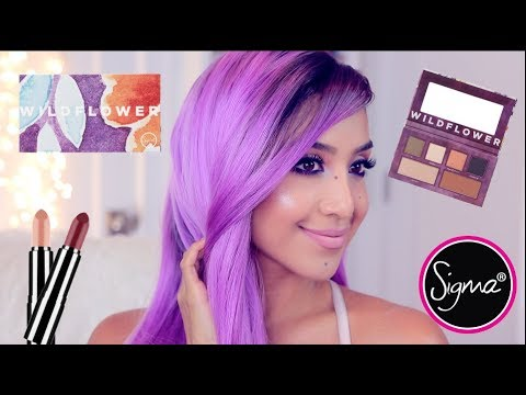 Sigma's Wildflower Palette Makeup Tutorial (Soft Spoken)