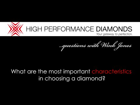 What Are The Most Important Characteristics When Choosing A Diamond?