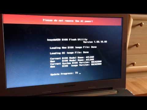 Lenovo Z50-70 (pentium Z3558u) bios update