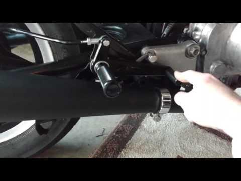 Honda CM400T Cafe Racer Build - Rear Sets Pt. 2
