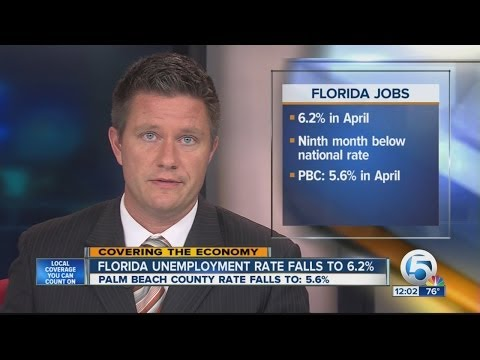 Florida's unemployment rate remaining flat