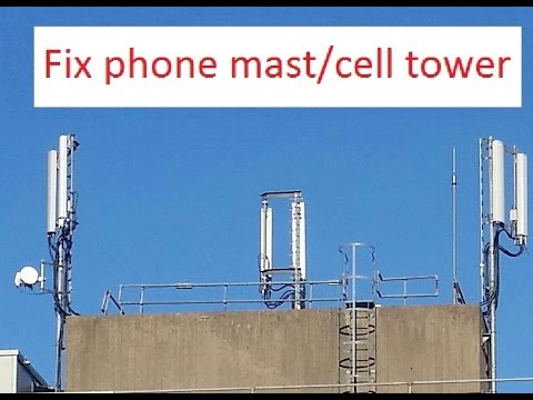 How long does it take to fix a phone mast?