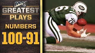 100 Greatest Plays: Numbers 100-91 | NFL 100