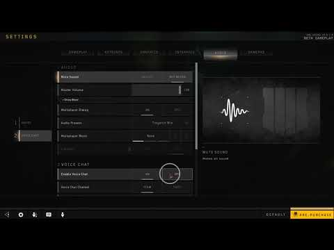 How to Disable Voice Chat in Black Ops 4