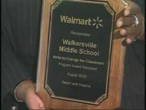 Walmarts Write to Change the Classroom Program helps schools