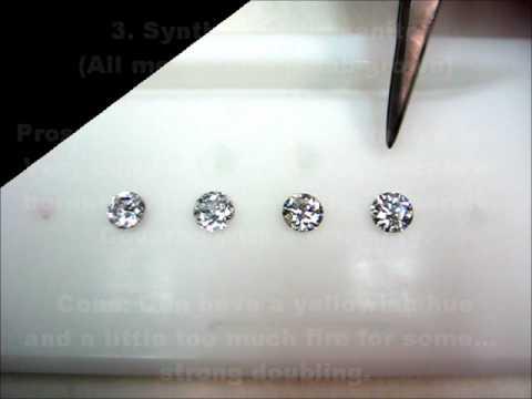 Diamond alternatives by comparison