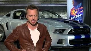 Aaron Paul Loves Driving Fast Cars In 'Need For Speed'