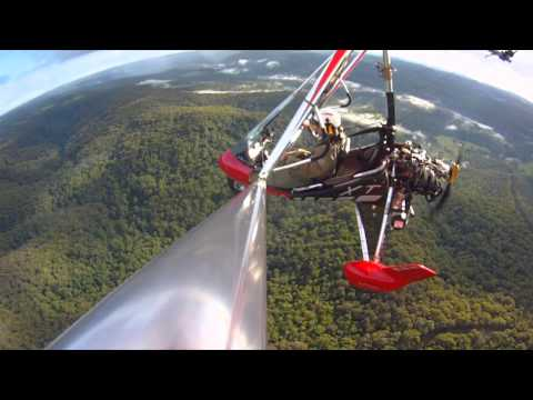 How to fly a Trike / Microlight