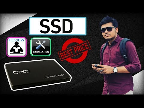 How to install SSD in any Desktop or Laptop | PNY PHANTOM-TLC 240GB SSD