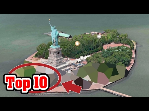 Top 10 Places GOOGLE EARTH Is HIDING FROM YOU