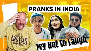 Why Pranks Don't Work in India | Jordindian | Reaction | TRY NOT TO LAUGH
