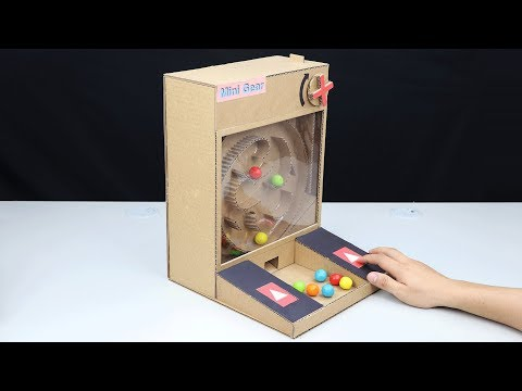 Wow! DIY Amazing Gumball Game from Cardboard