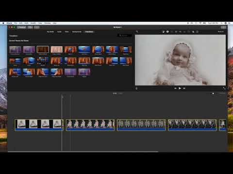 iMovie- How to Add Same Transition to Multiple Clips
