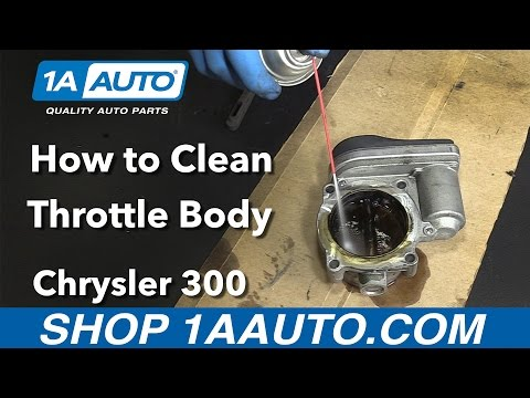 How to Clean Throttle Body 2006 Chrysler 300 Buy Quality Parts from 1AAuto.com