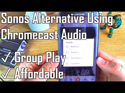 UPDATED: Budget Sonos Alternative using Google Chromecast Audio! Multiroom Wireless Music Streaming