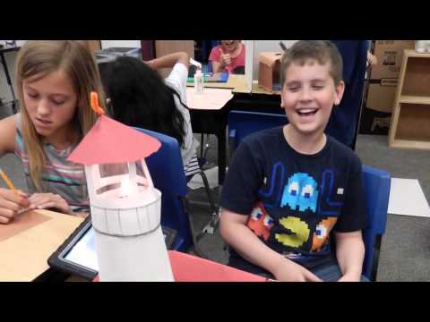 Fourth Grade Lighthouse Showcase
