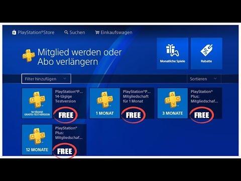 *FREE*PSN BEKOMMEN (2018) | So bekommst du gratis PlayStation Plus