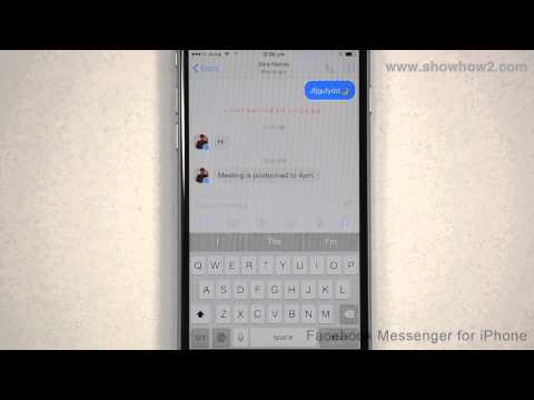 Facebook Messenger For iPhone - How To Forward A Message