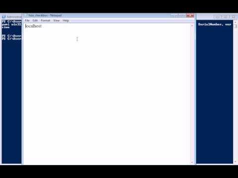 Check da versão BIOS usando PowerShell