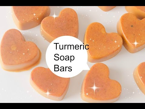 Making Turmeric Soap Bars (DIY Saturday Episode 13) Making DIY Soap Bars Turmeric Soap Bar DIY