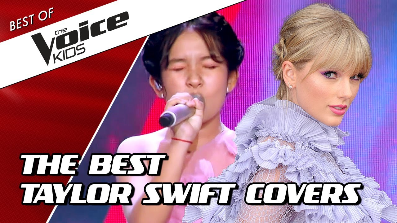 TOP 10 | BEST TAYLOR SWIFT Blind Auditions in The Voice Kids (part 1)! 😍
